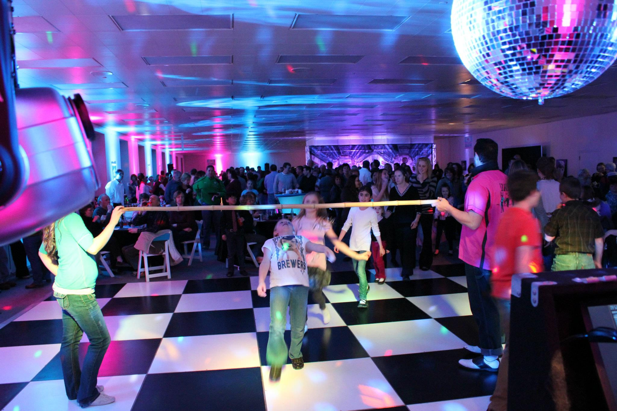 Limbo Header for Corporate Event Entertainment in Green Bay